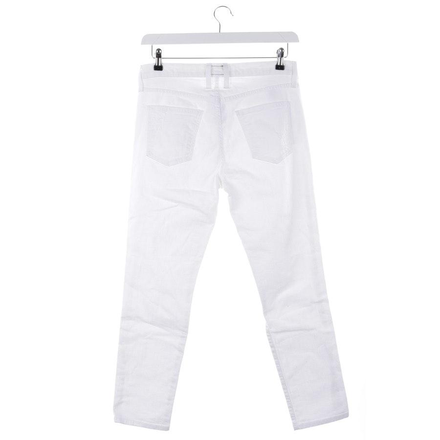 Jeans von Current/Elliott in Weiß Gr. W27