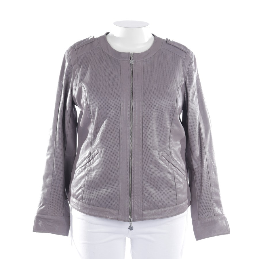leather jacket from Thomas Rath in gray size 38 IT 44 - new