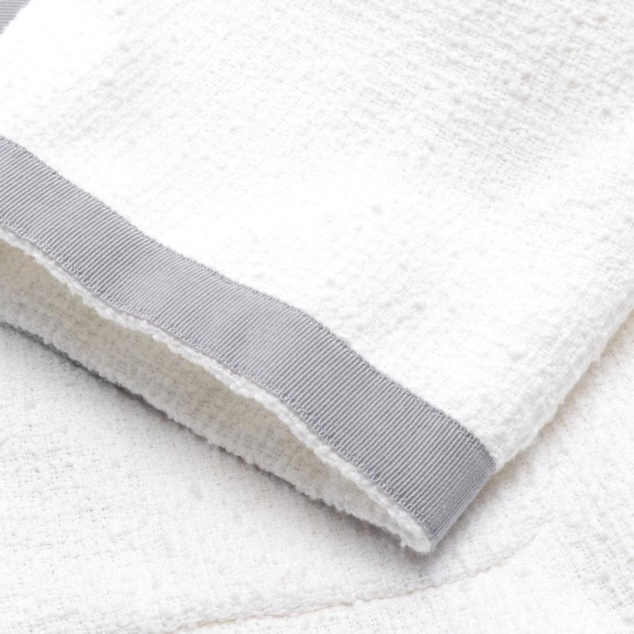 Blazer von Chanel in Weiß und Grau Gr. 46 FR 48