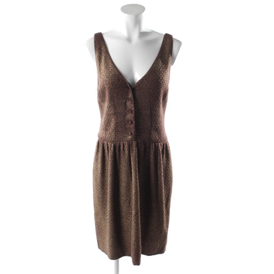 Kleid von Ralph Lauren Purple Label in Braun Gr. 38 US 8