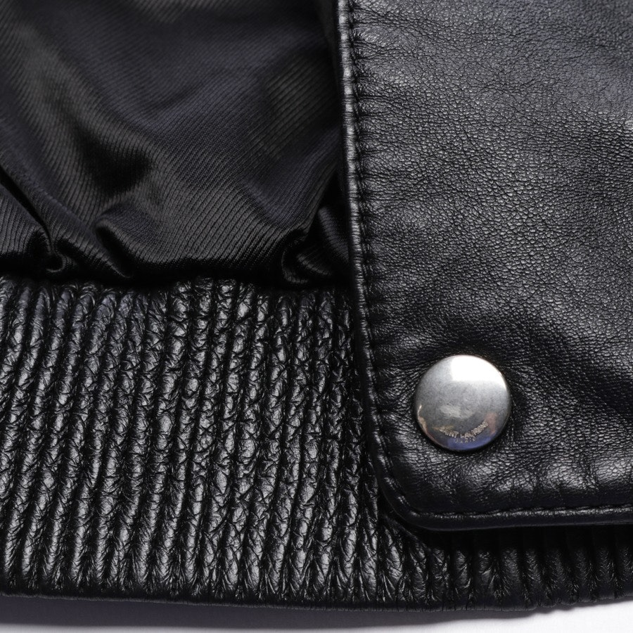 leather jacket from Saint Laurent in black size 34