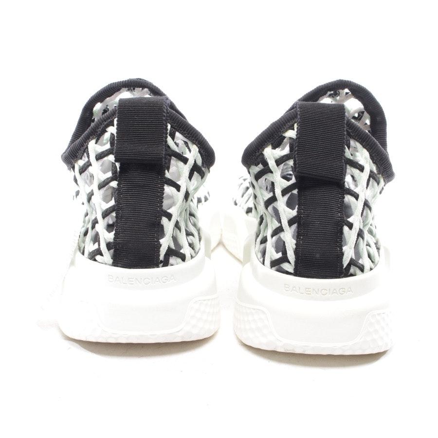 Sock-Sneaker von Balenciaga in Mintgrün und Schwarz Gr. D 38 - Speed Runner Tess