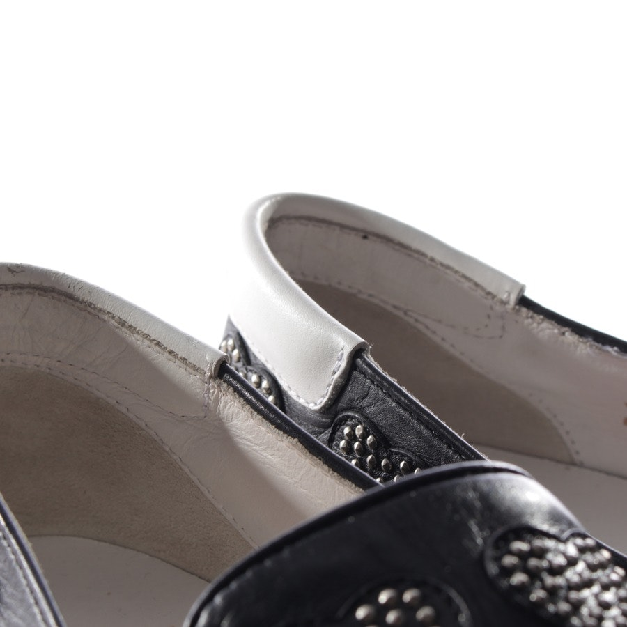 loafers from Saint Laurent in black size EUR 38,5 - heart-shaped studs
