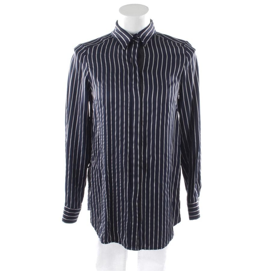 Bluse von Marc O'Polo Pure in Marineblau und Weiß Gr. 34