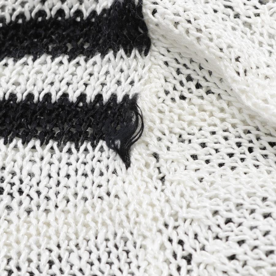 Pullover von 360sweater in Weiß und Schwarz Gr. S