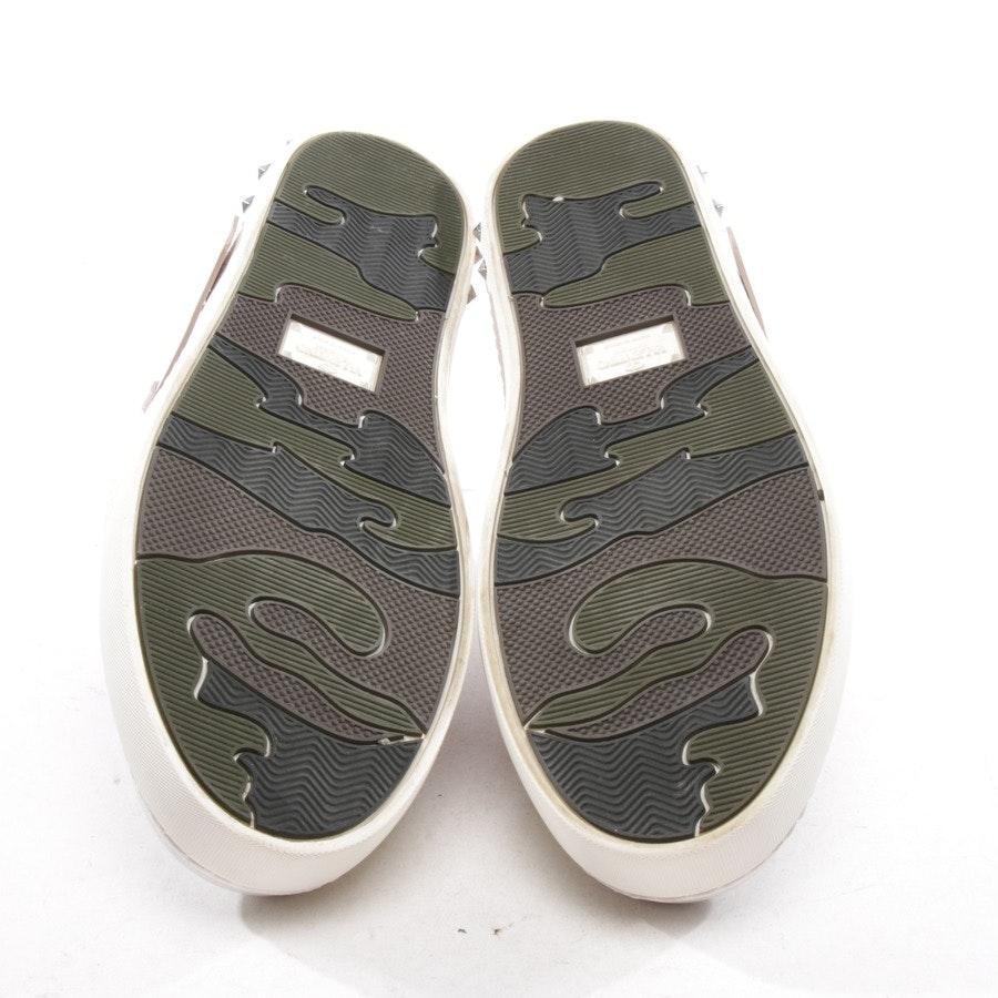 Sneaker von Valentino in Offwhite und Rosa Gr. D 40 - Rockstud