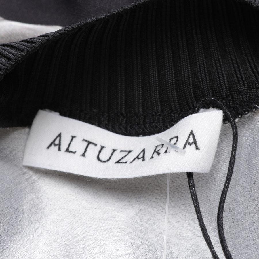 Kleid von Altuzarra in Anthrazit und Weiß Gr. 38 FR 40 - Neu