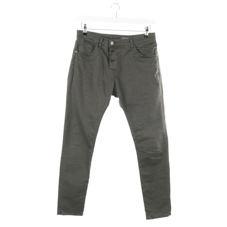 jeans from Please in green size S