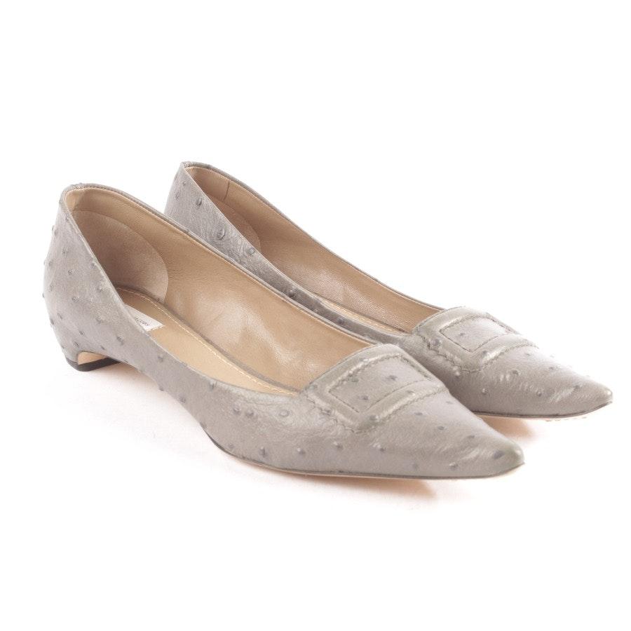 Ballerinas von Marc Jacobs in Grau Gr. D 37 - Neu