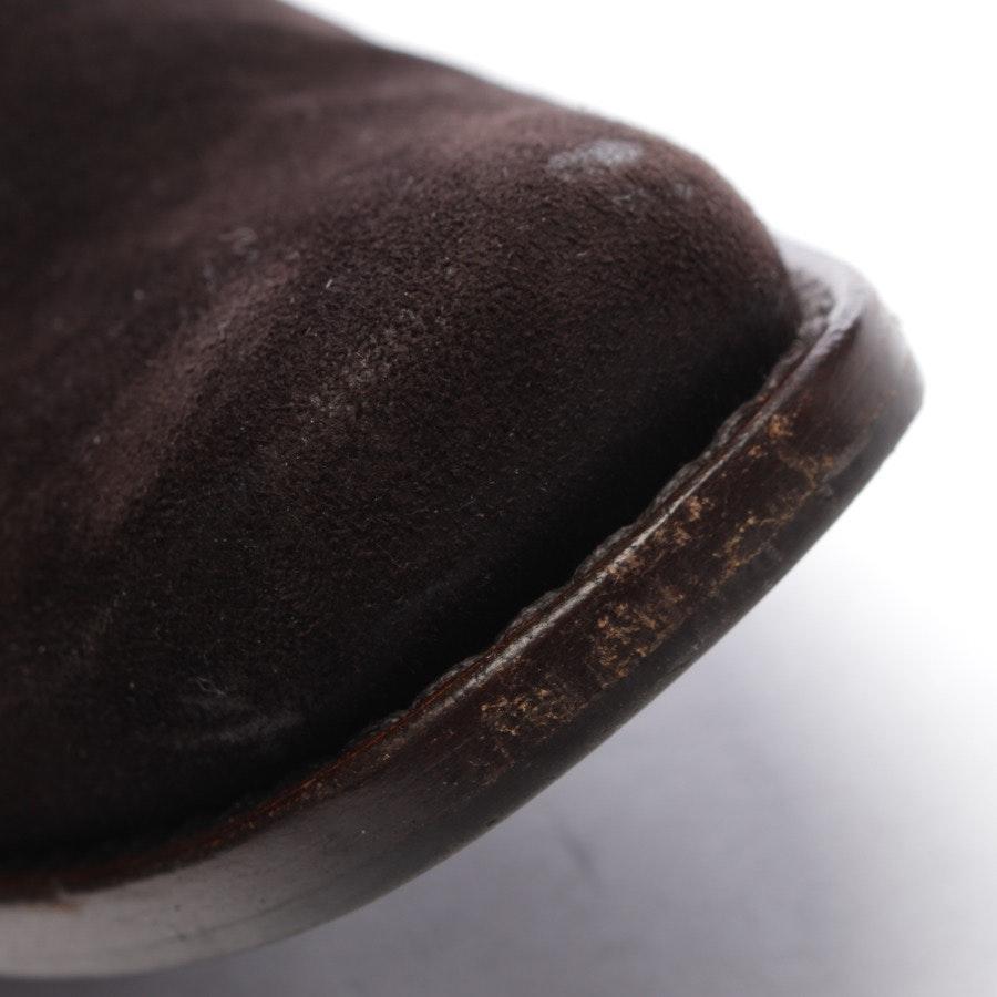 Stiefel von Miu Miu in Dunkelbraun Gr. EUR 35