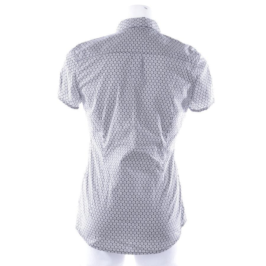 Bluse von Marc O'Polo in Weiß und Blau Gr. 34
