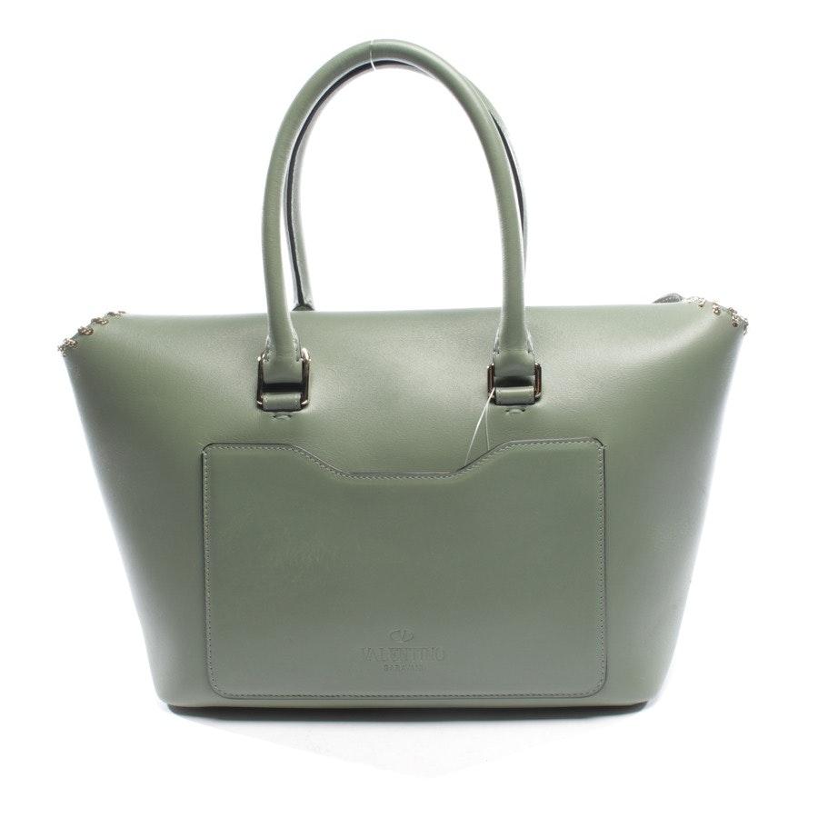 handbag from Valentino in green - rockstud demilune double handle