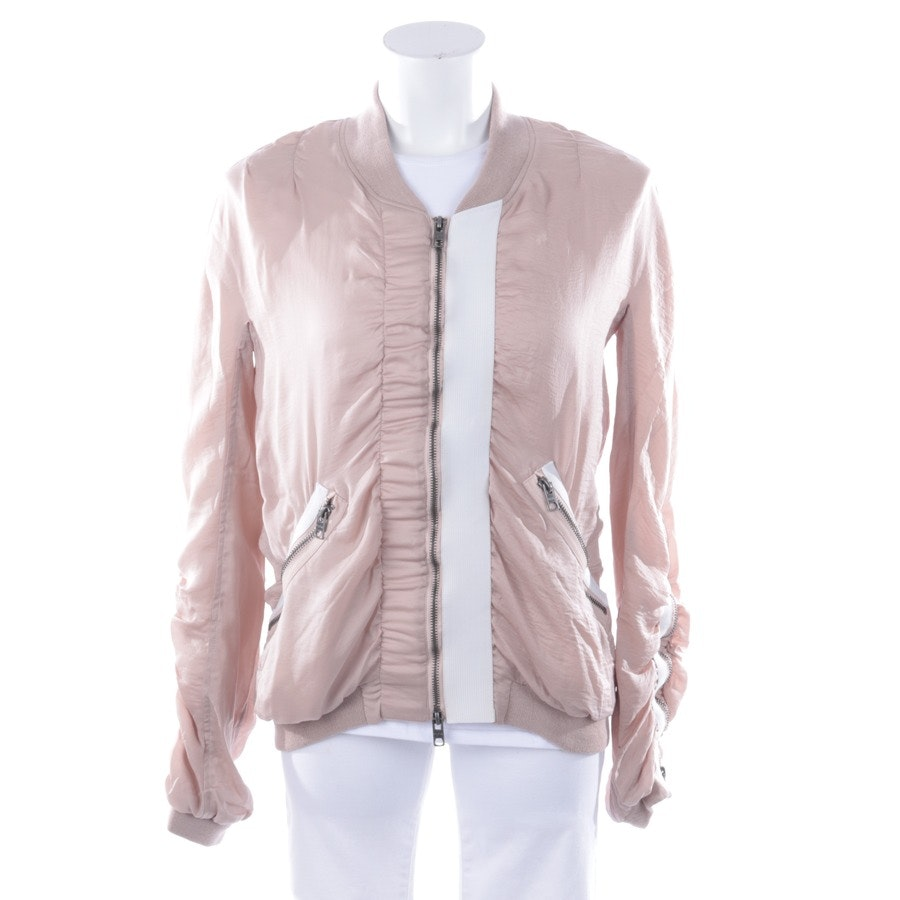 between-seasons jackets from Tigha in delicate pink and white size 34
