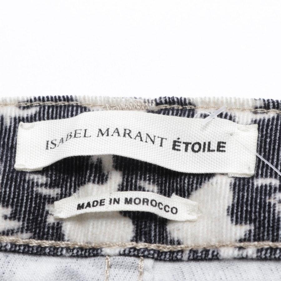 Hose von Isabel Marant Étoile in Schwarz und Weiß Gr. 32 FR 34