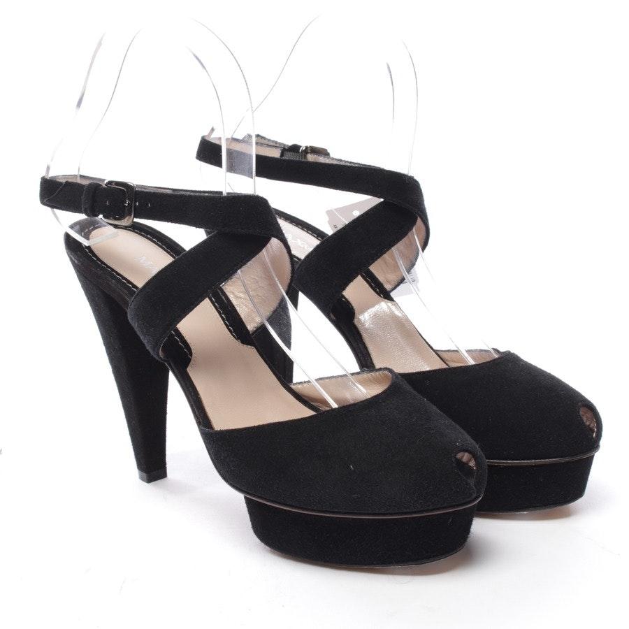 Sandaletten von Max & Co. in Schwarz Gr. D 38 - Neu