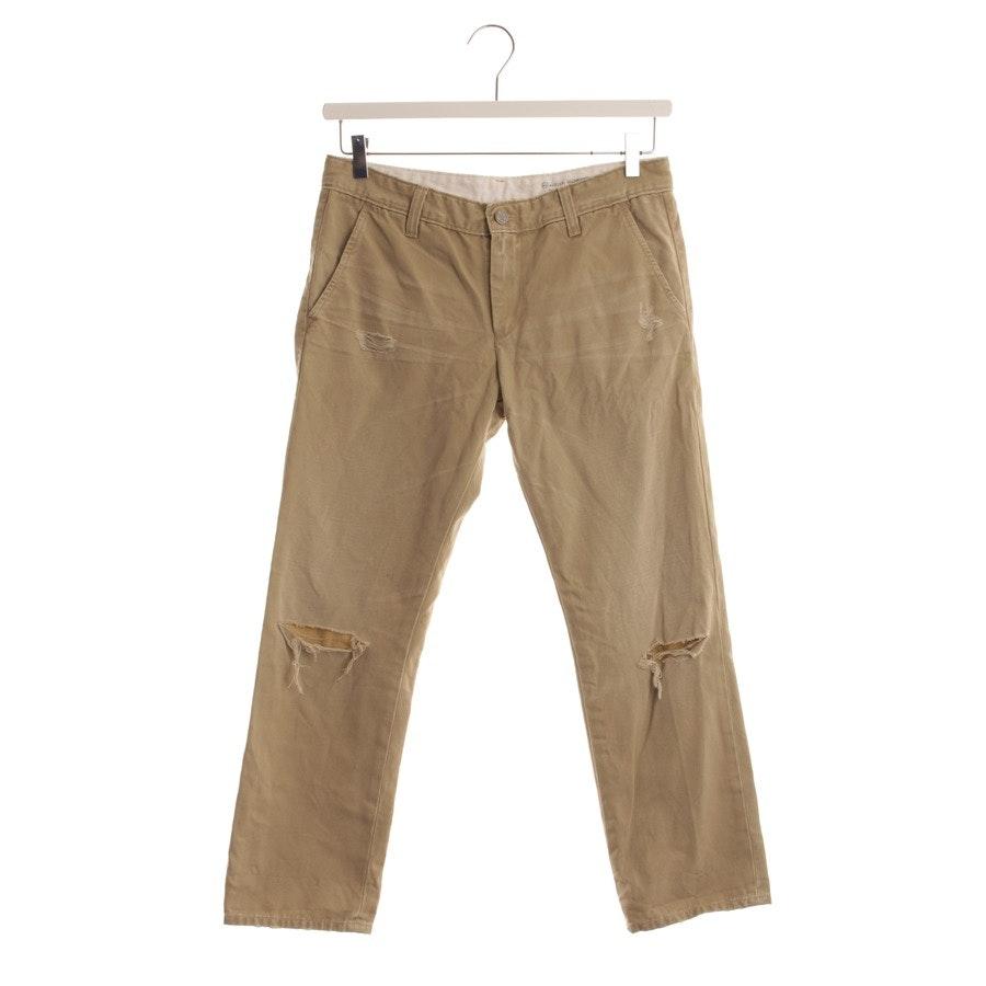 trousers from AG Jeans in beige size DE 38