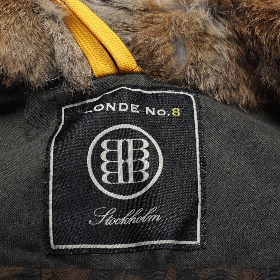 Wintermantel von Blonde No. 8 in Khaki Gr. 38 - Aspen