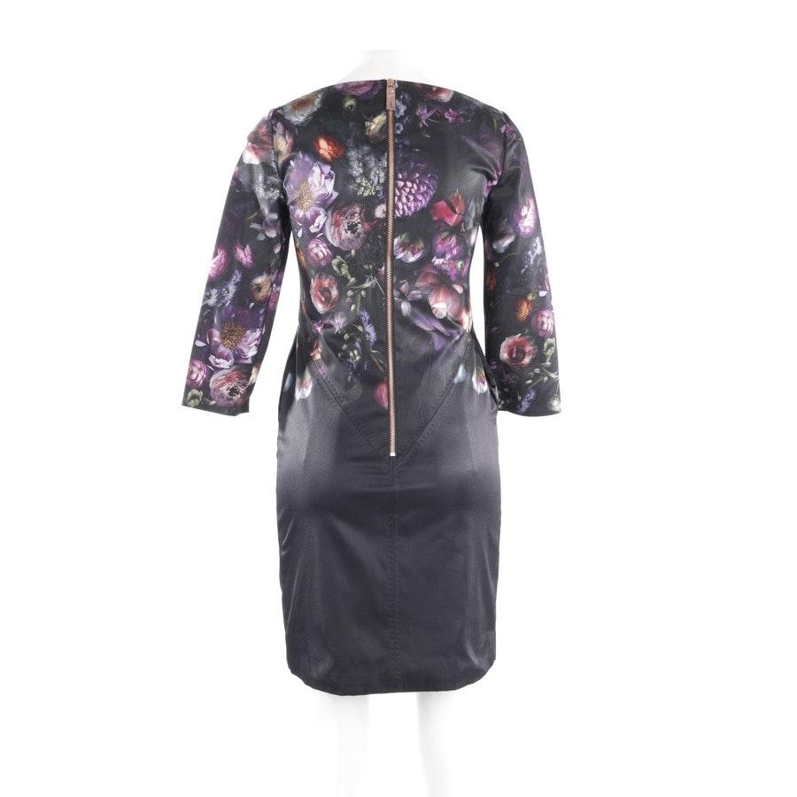 Kleid von Ted Baker in Schwarz und Multicolor Gr. 34