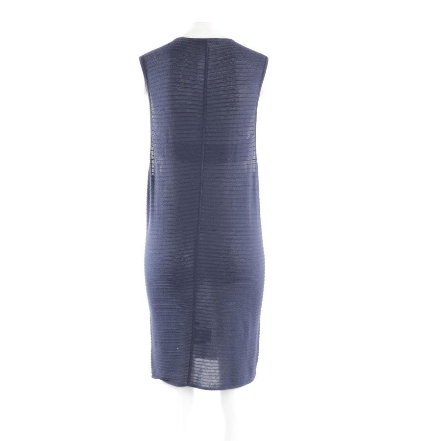 Kleid von Jil Sander in Dunkelblau Gr. 34