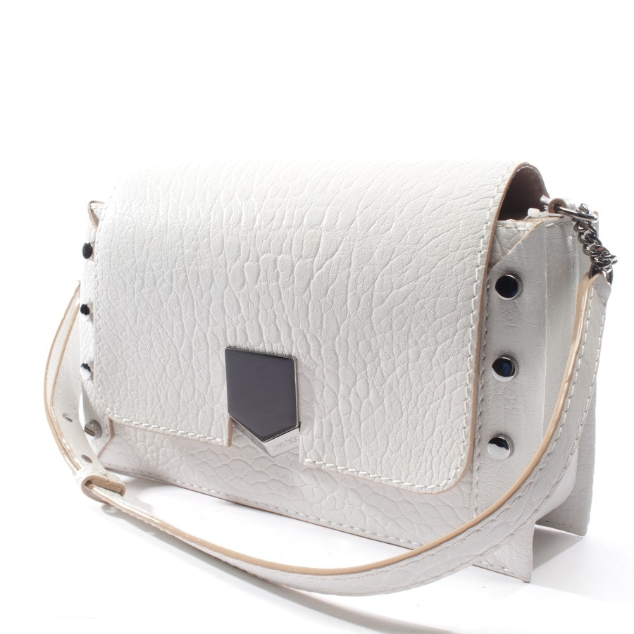 shoulder bag from Jimmy Choo in white - lockett shoulder bag - new
