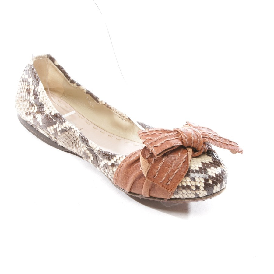 loafers from Miu Miu in beige and brown size EUR 36