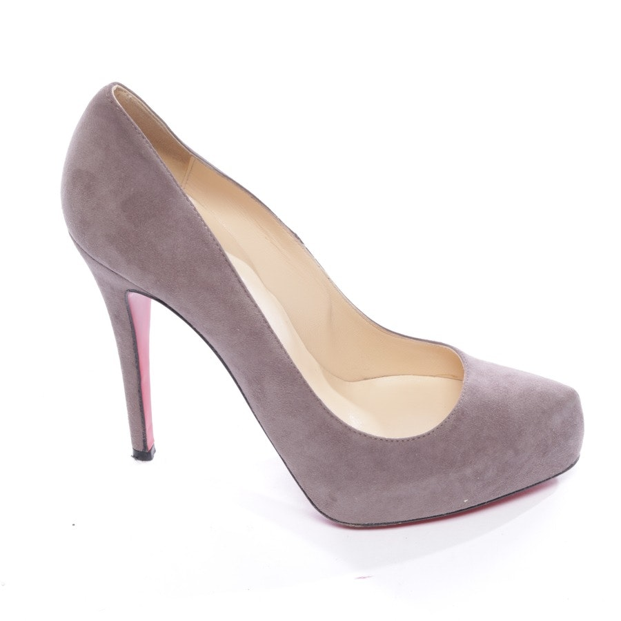 Pumps von Christian Louboutin in Pflaume Gr. D 38