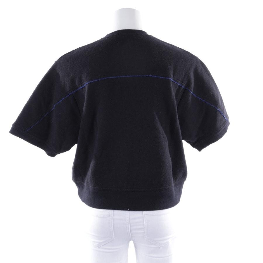 Sweatshirt von T by Alexander Wang in Schwarz und Blau Gr. XS