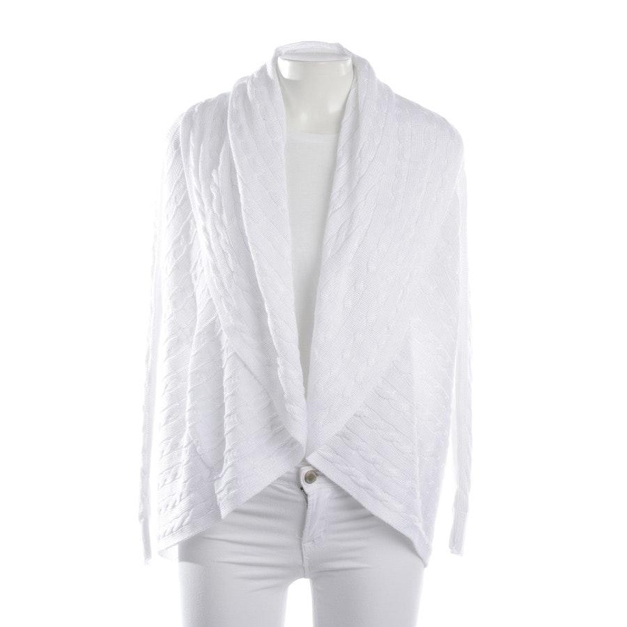 Strickjacke von Lauren Ralph Lauren in Weiß Gr. 2XS