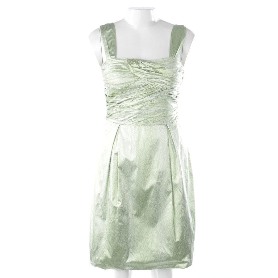 Kleid von Diane von Furstenberg in Pastellgrün und Silber Gr. 38 US 8