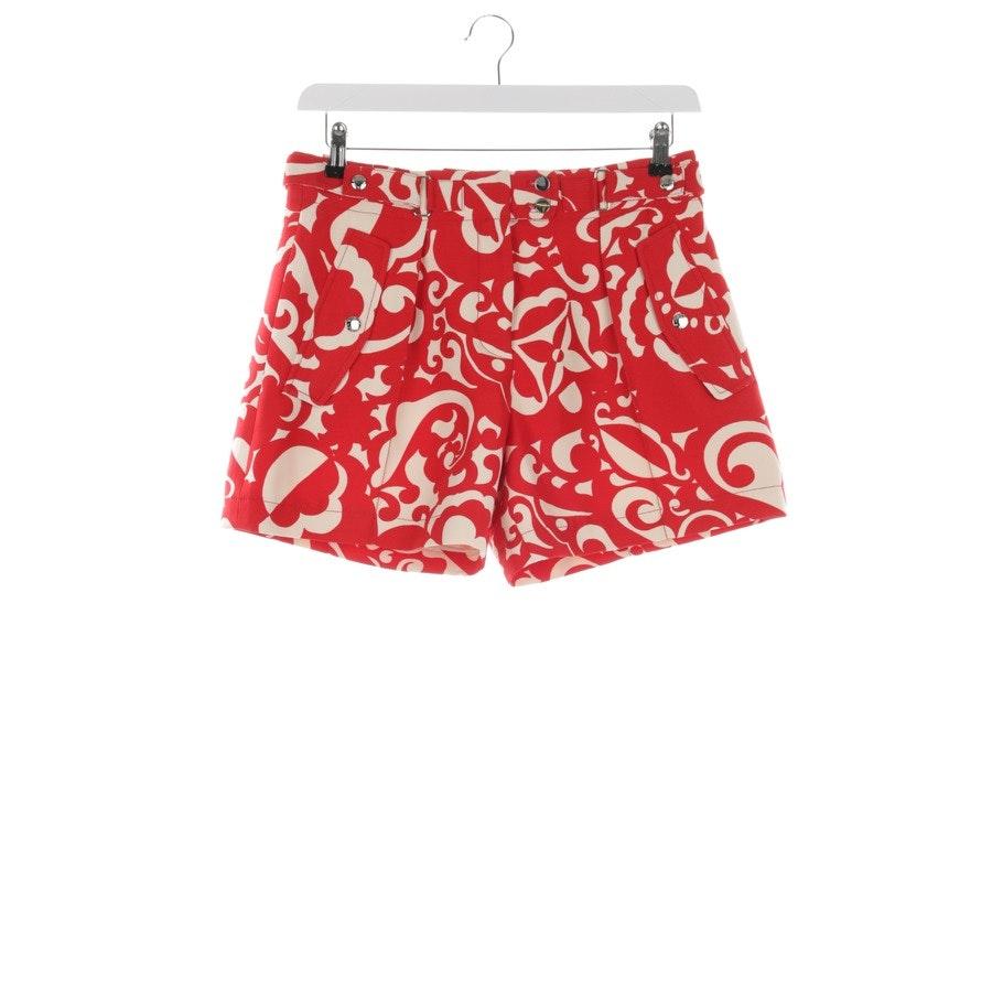 Shorts von Louis Vuitton in Beige und Rot Gr. 36