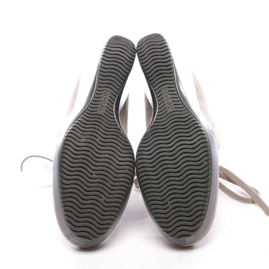 Ankle Boots von Hogan in Beigebraun Gr. EUR 37,5