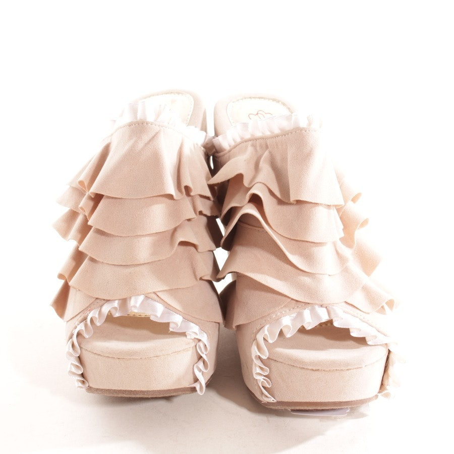high heels from DbDk in pink and white size D 37,5 US 7,5