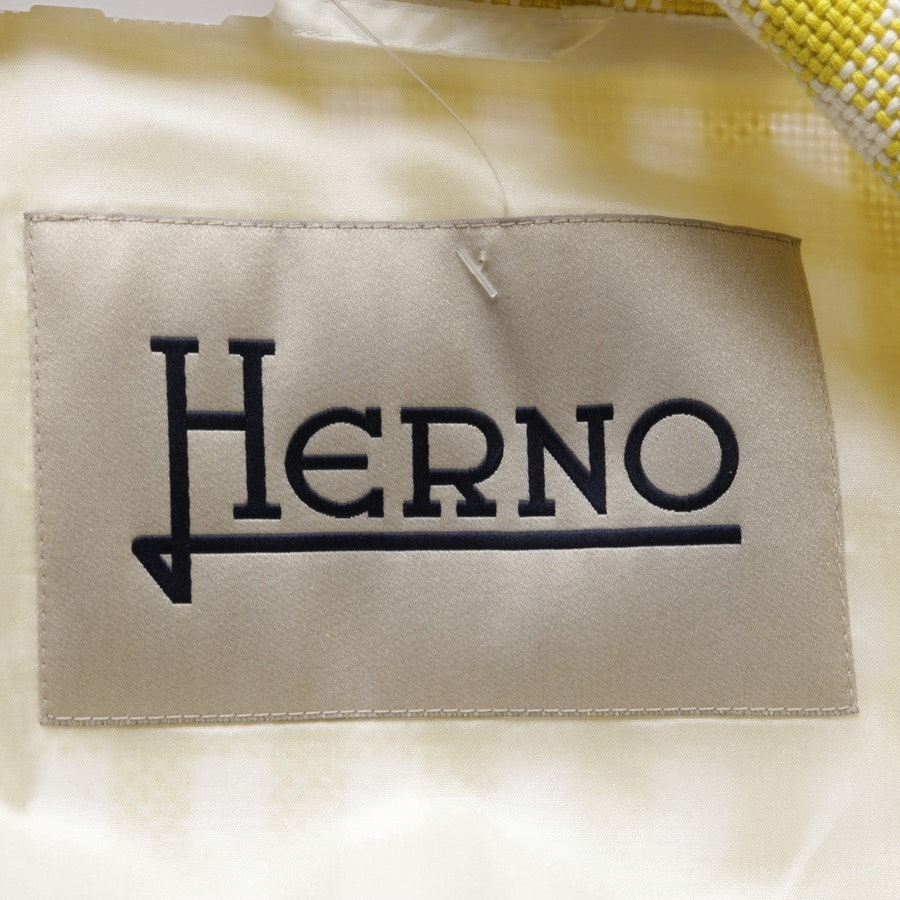between-seasons jackets from Herno in yellow and white size 36 IT 42