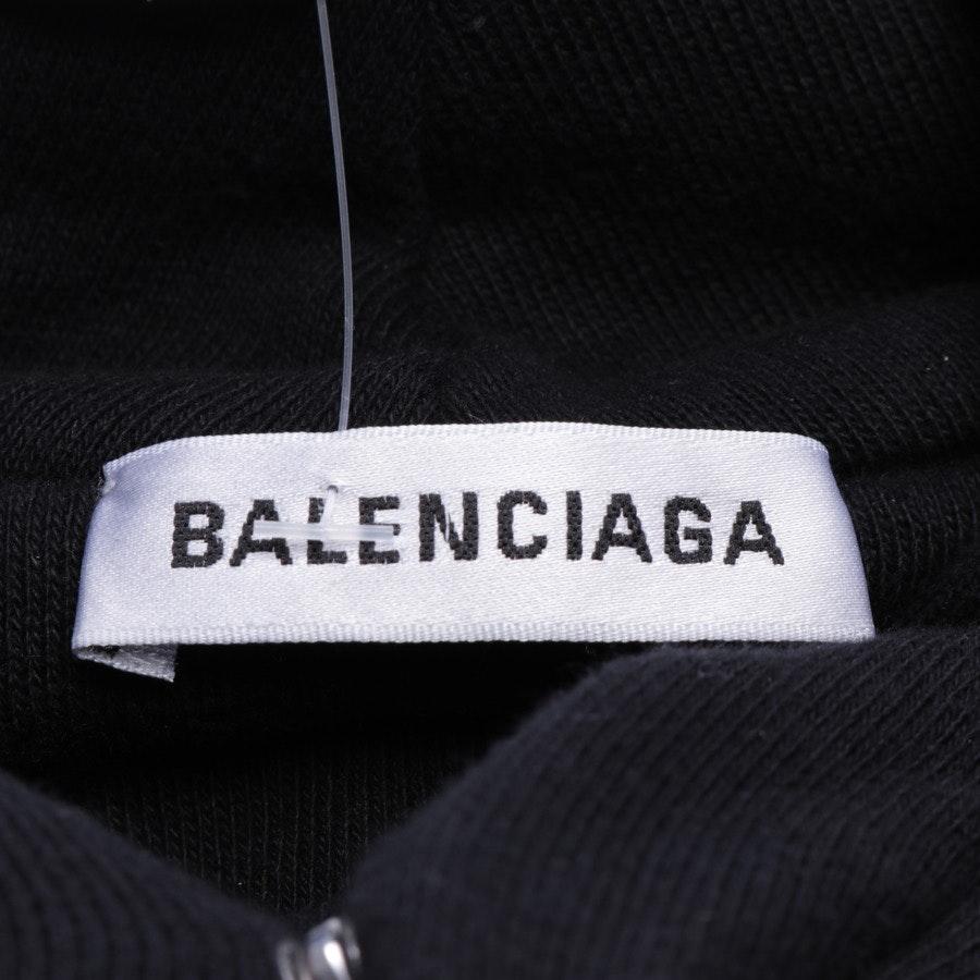 Kapuzenpullover von Balenciaga in Schwarz Gr. L