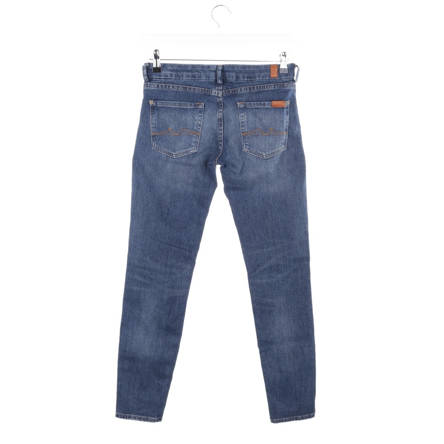 jeans from 7 for all mankind in medium blue size W25 - slim cigarette