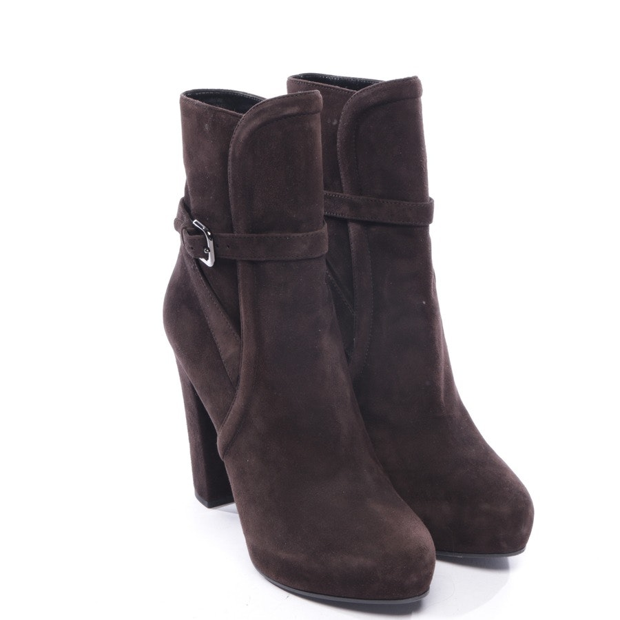 ankle boots from Prada in brown size EUR 40,5 - new