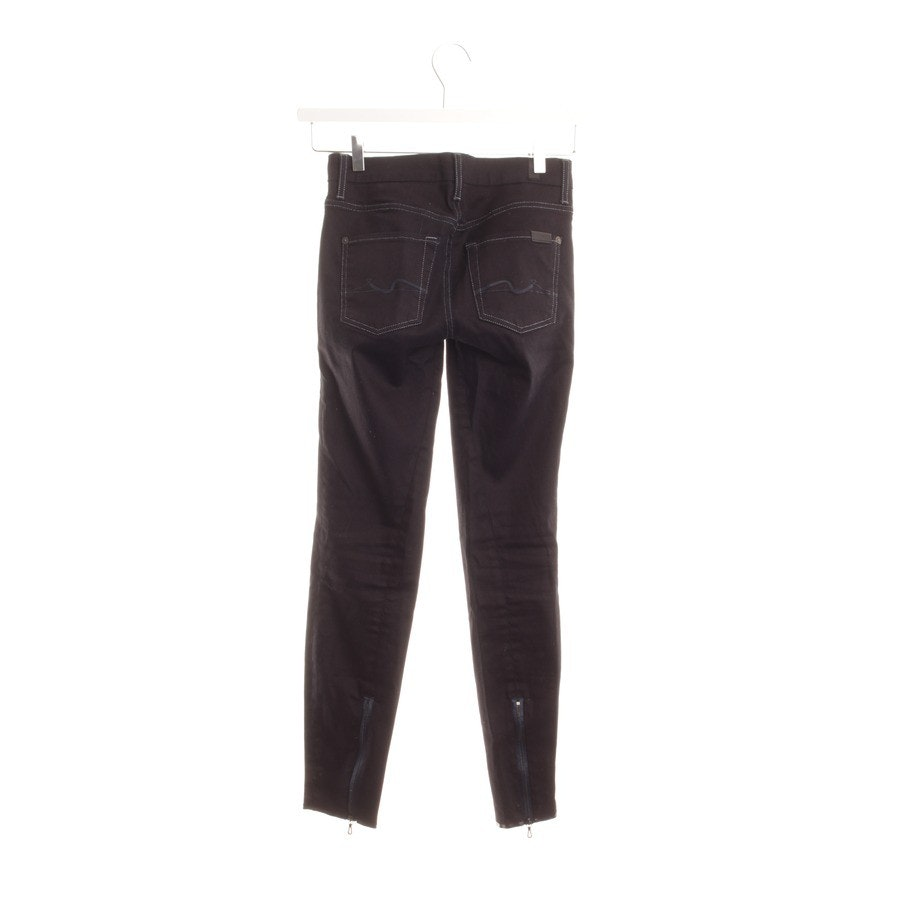 jeans from 7 for all mankind in purple & silver size W25