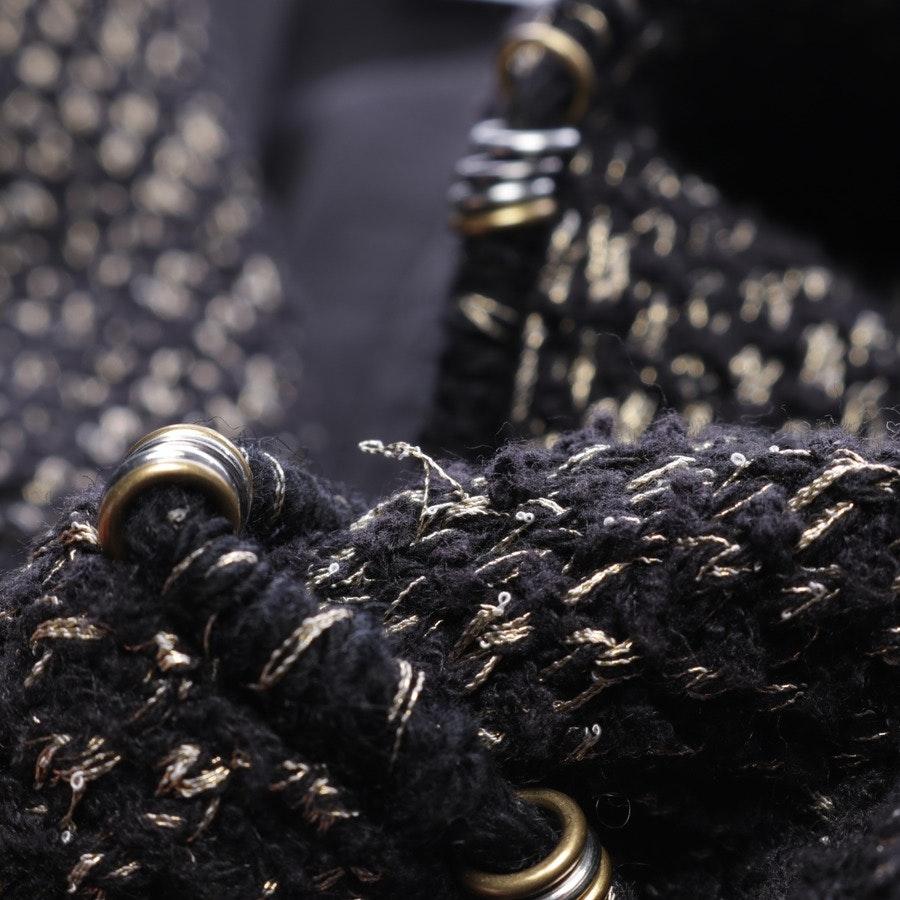 Blazer von Chanel in Schwarz und Gold Gr. 36 FR 38