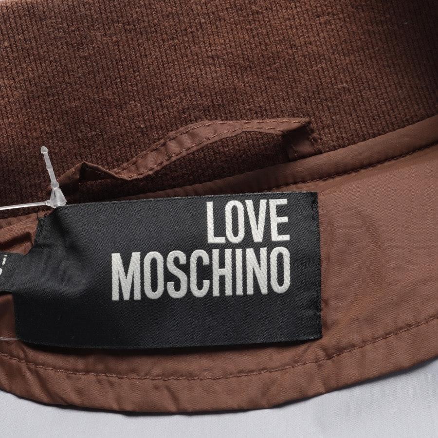 Sommerjacke von Love Moschino in Braun und Grün Gr. 48
