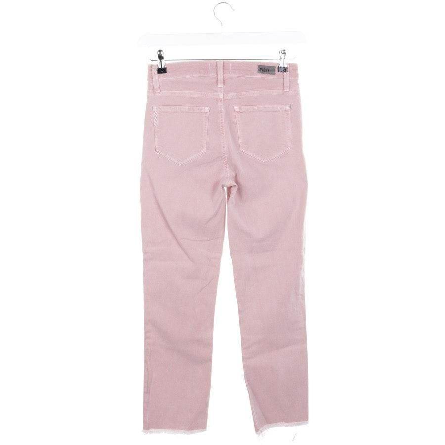 Jeans von Paige in Altrosa Gr. W26 - Jaqueline Straight