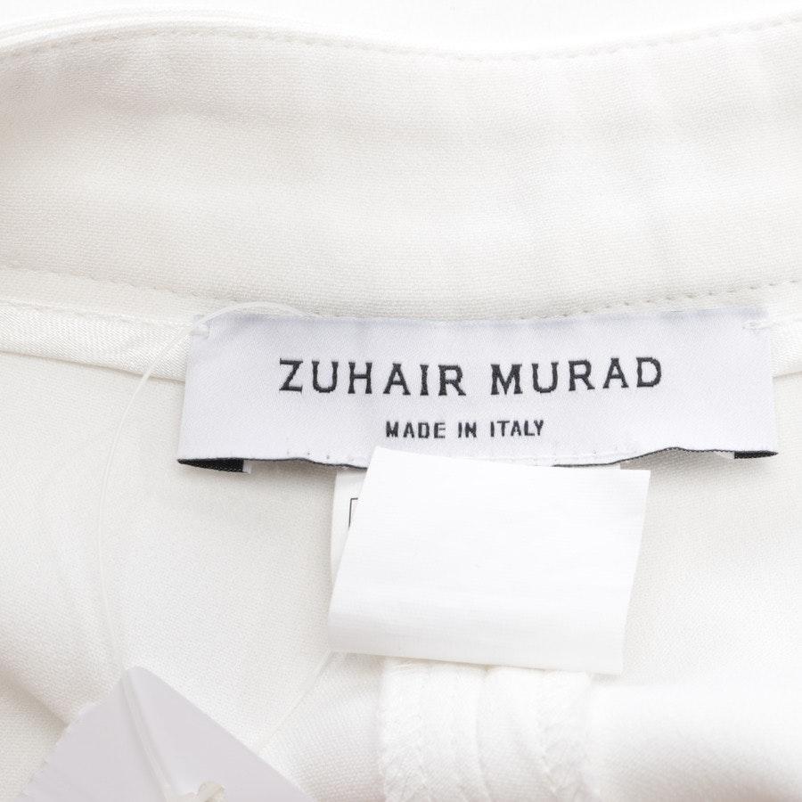 Marlenehose von Zuhair Murad in Cremeweiß Gr. 34 IT 40