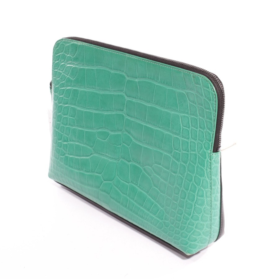 clutch from 3.1 Phillip Lim in green