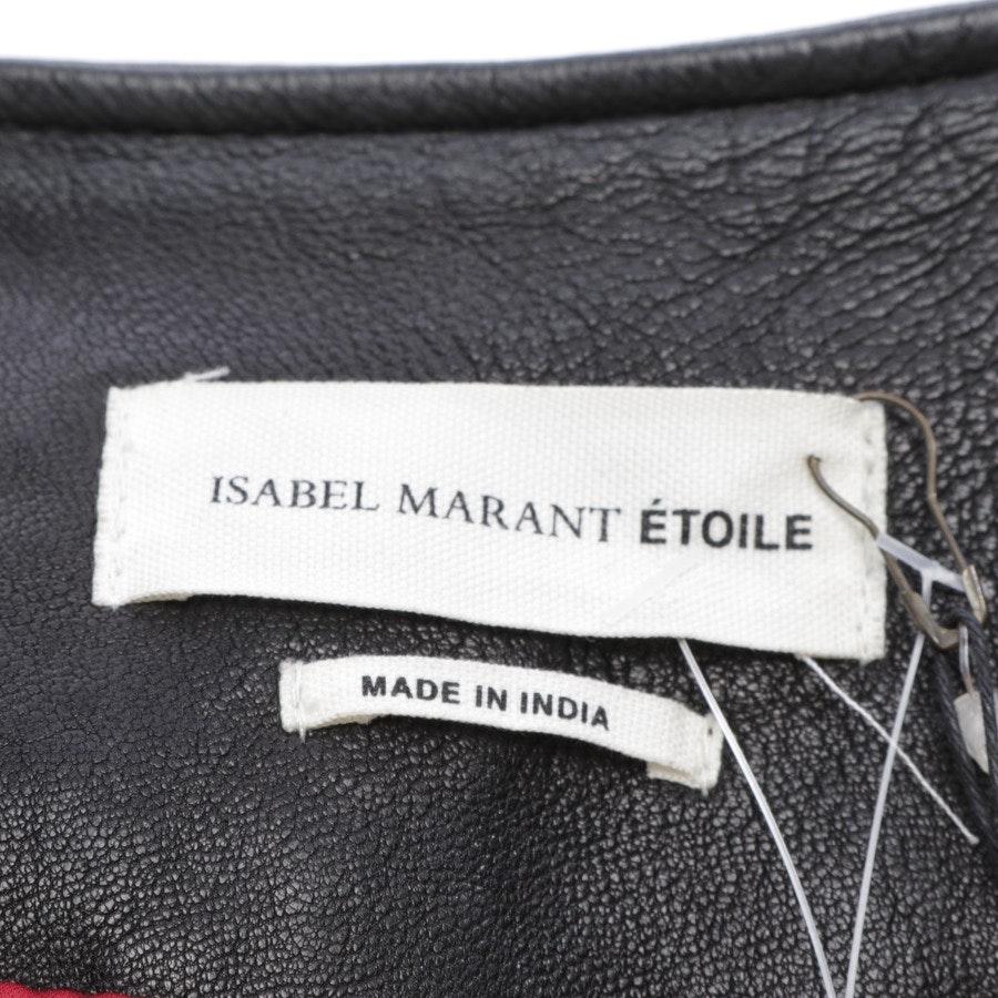Lederjacke von Isabel Marant Étoile in Schwarz Gr. 38 FR 40