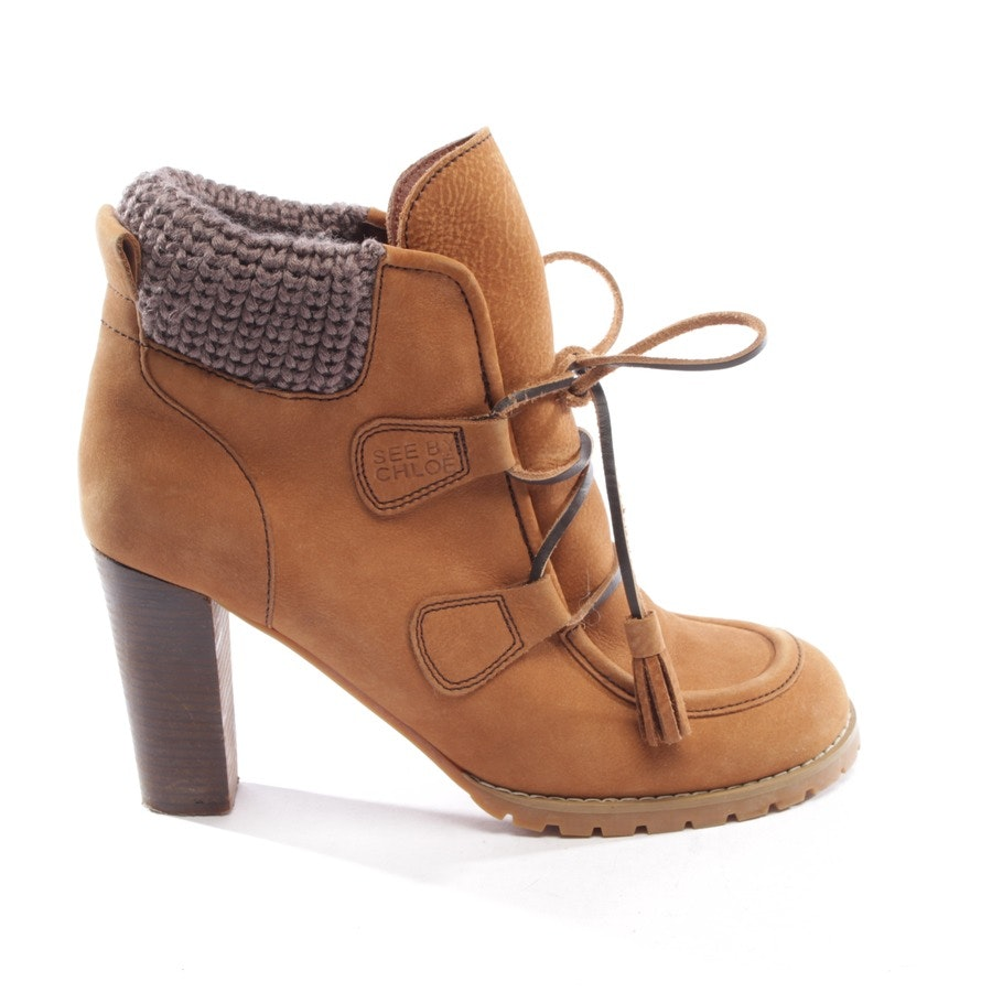 Ankle Boots von See by Chloé in Camel Gr. EUR 40