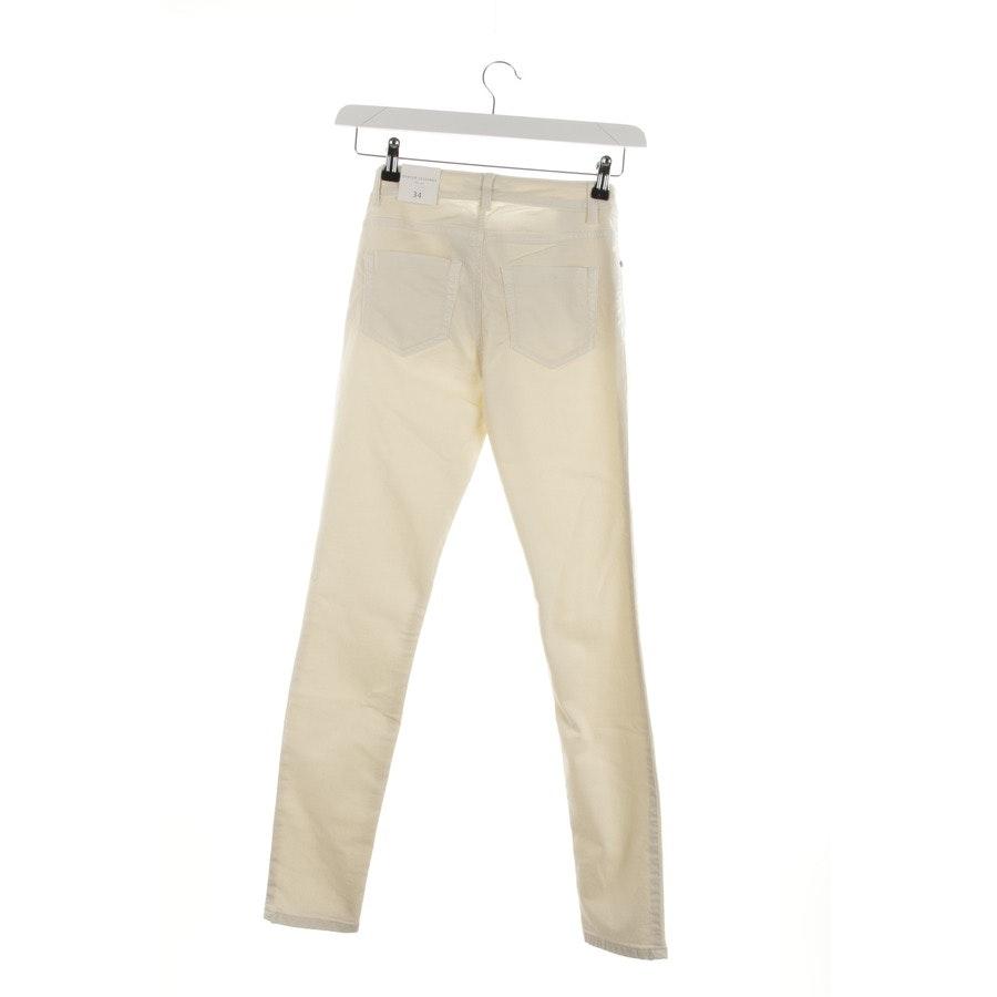 Jeans von Oui in Cremeweiß Gr. 34 - Baxtor Jeggins - Neu