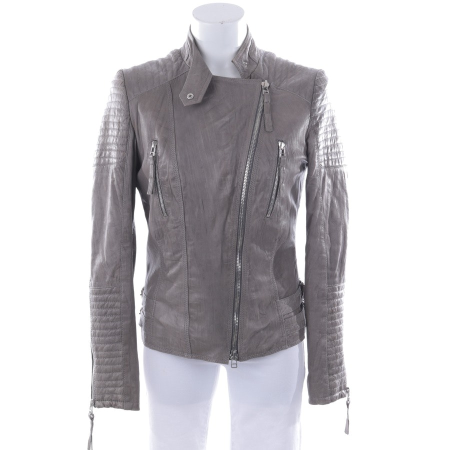 leather jacket from DNA 2 in gray size XS