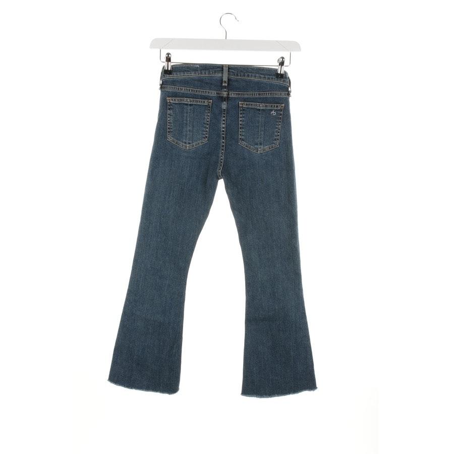 Jeans von Rag & Bone in Blau Gr. W26 - 10 Inch Crop Flare