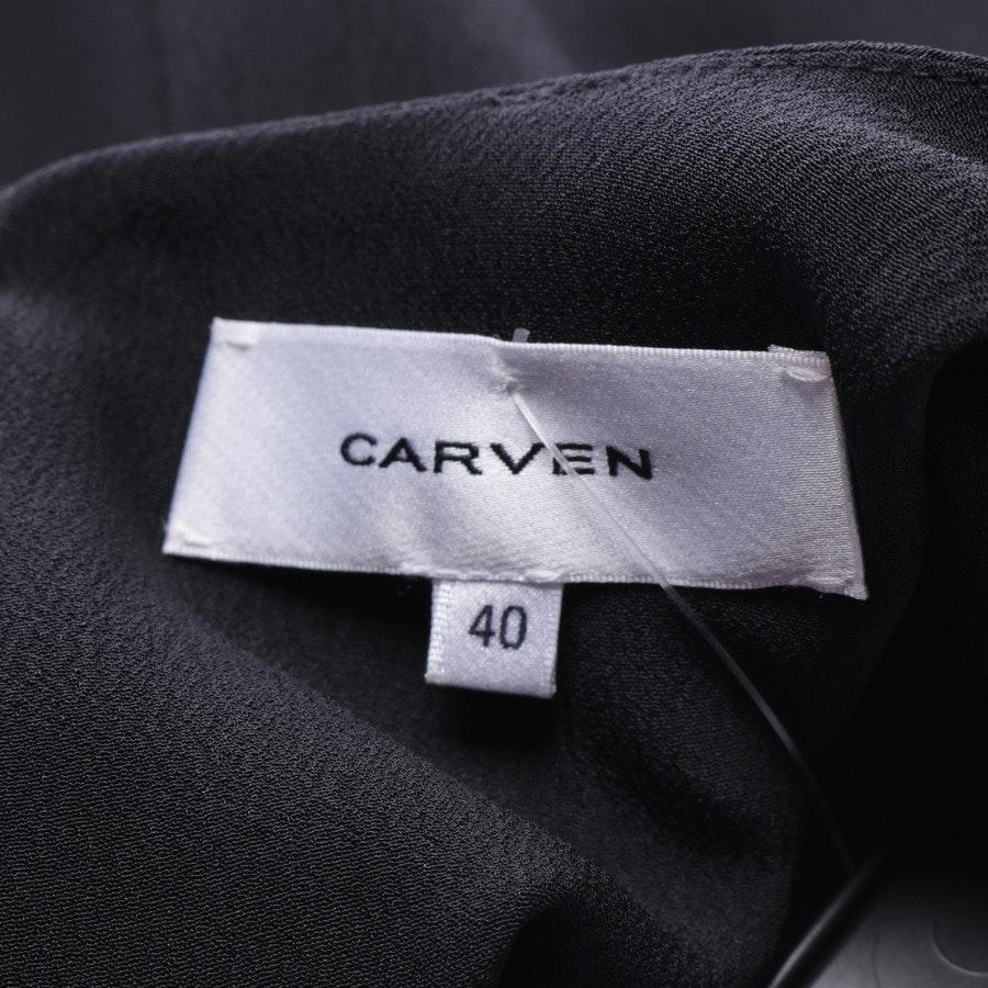 Cocktailkleid von Carven in Schwarz Gr. 38 FR 40