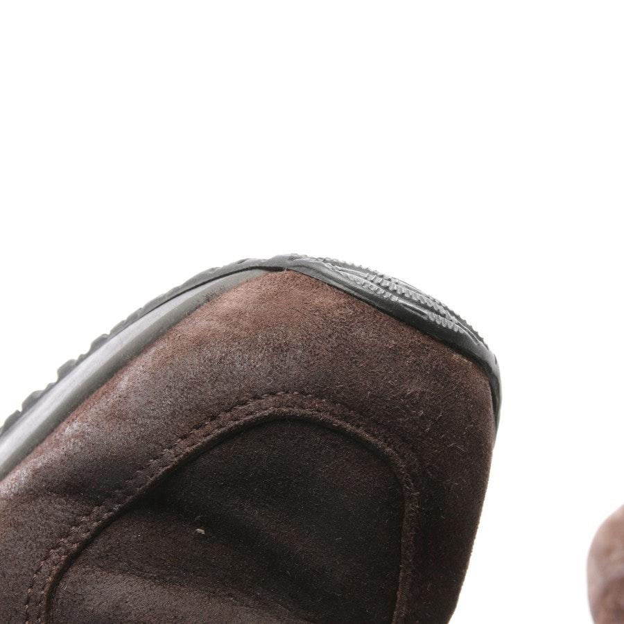 Sneaker von Hogan in Dunkelbraun Gr. D 35