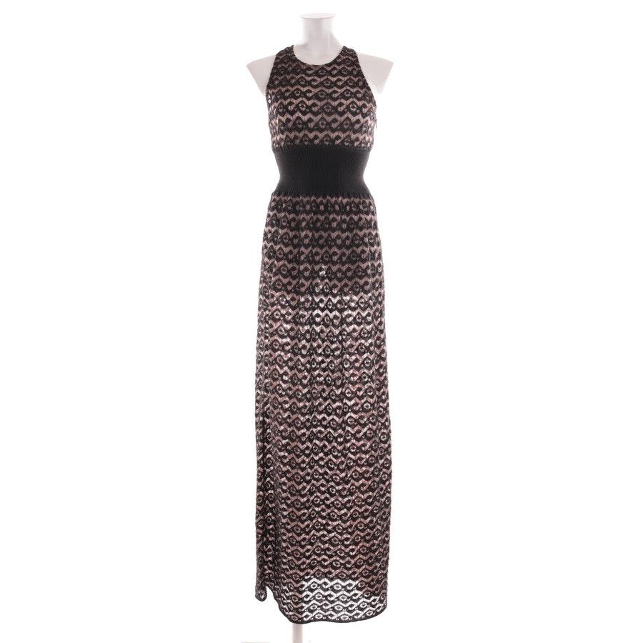 Kleid von Alaia in Kakaobraun und Schwarz Gr. 38 FR 40